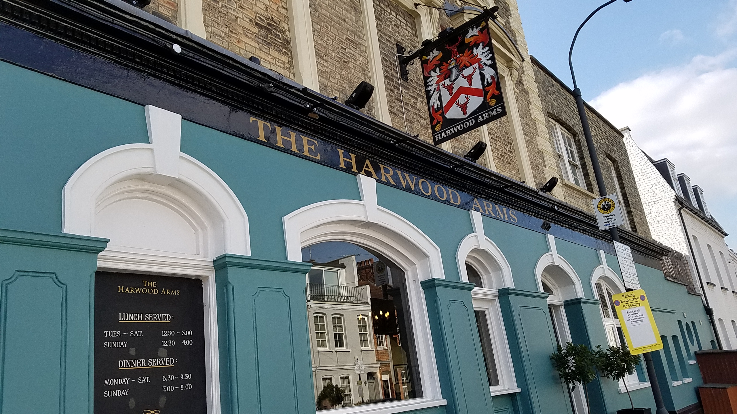 The Harwood Arms *